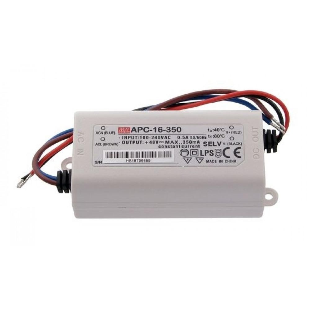 Светодиодный драйвер Mean Well APC-16-350