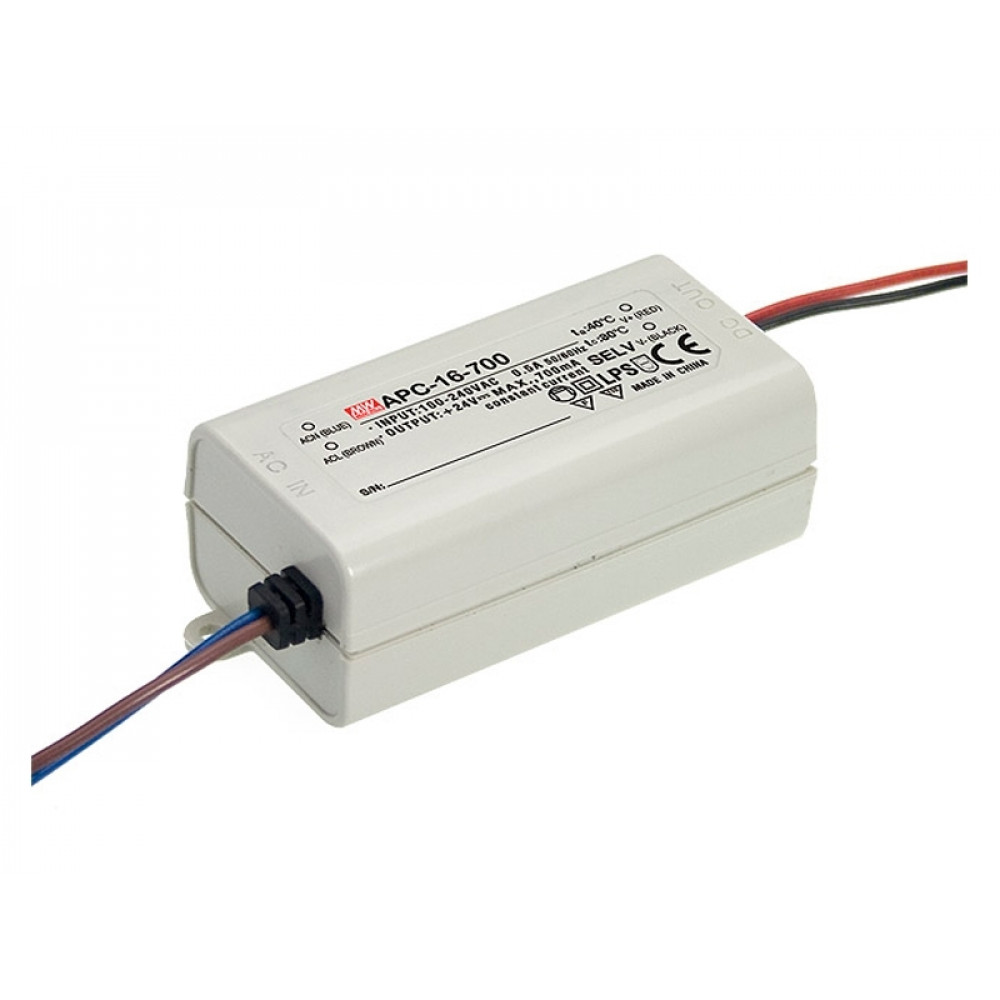 Светодиодный драйвер Mean Well APC-16-700