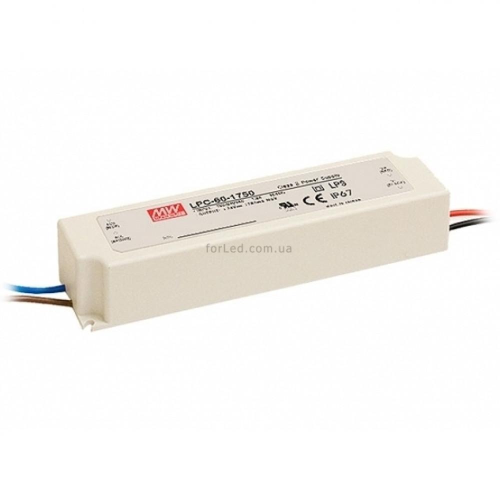 Светодиодный драйвер Mean Well LPC-60-1750