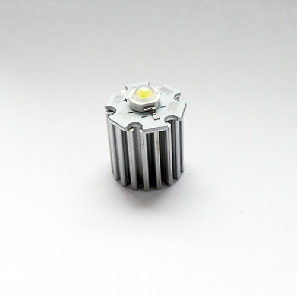 Радиатор для светодиода - 1 Вт