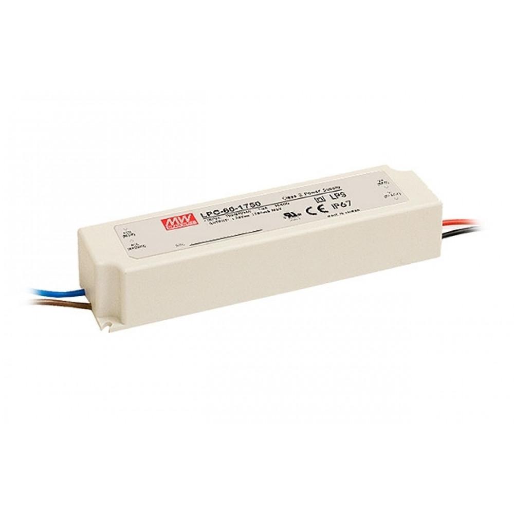 Светодиодный драйвер Mean Well LPC-60-1050