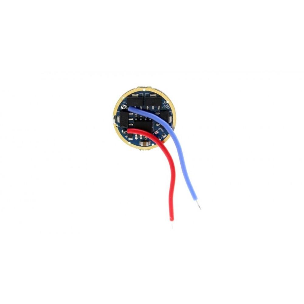 Драйвер фонаря 8*AMC7135 (2800 мА) 5 режимов 17 мм
