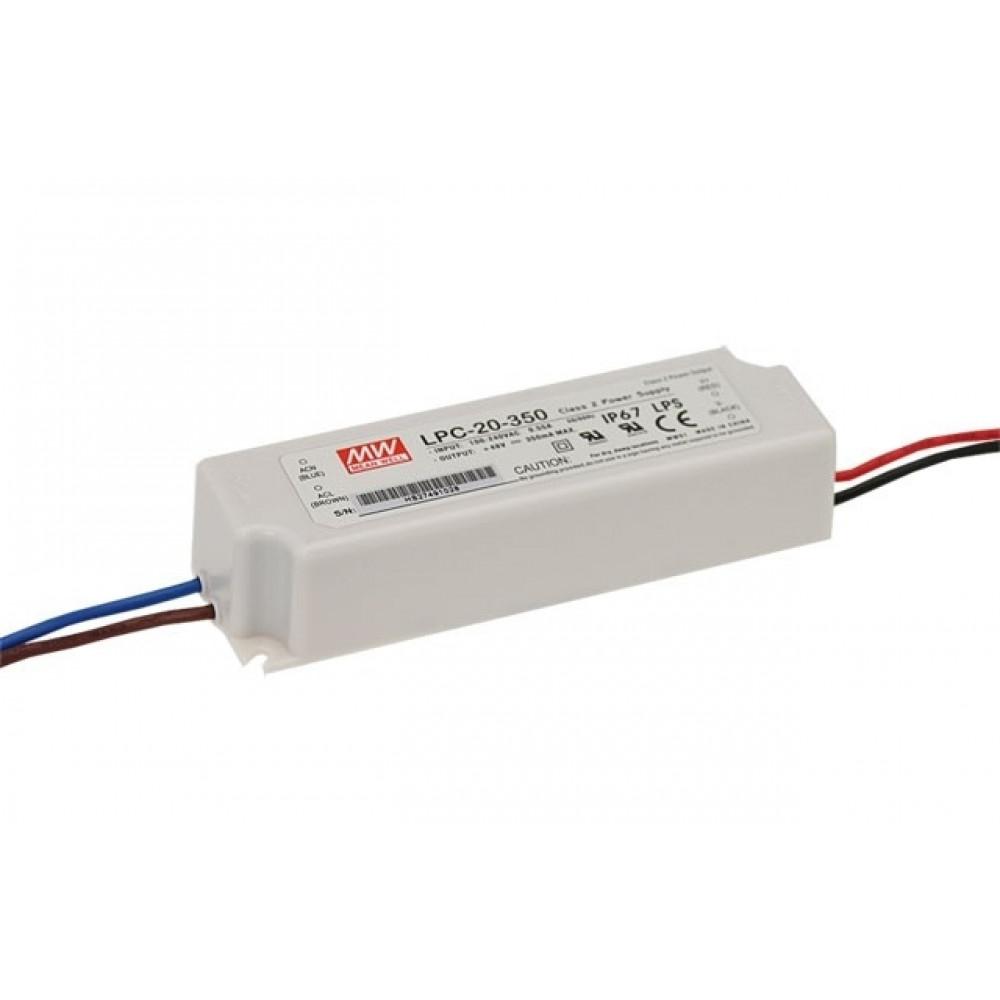 Светодиодный драйвер Mean Well LPC-20-350