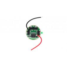 Драйвер для фонаря  4* AMC7135 (1400 мА) 5 режимов 17 мм