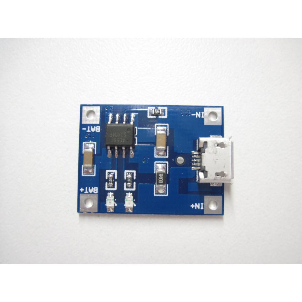 Зарядка для Li-Ion аккумуляторов TP4056