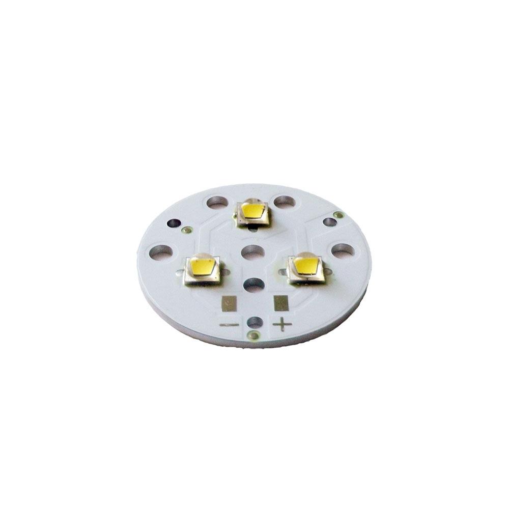 Светодиодный модуль трипл Cree XM-L2 3500 35mm