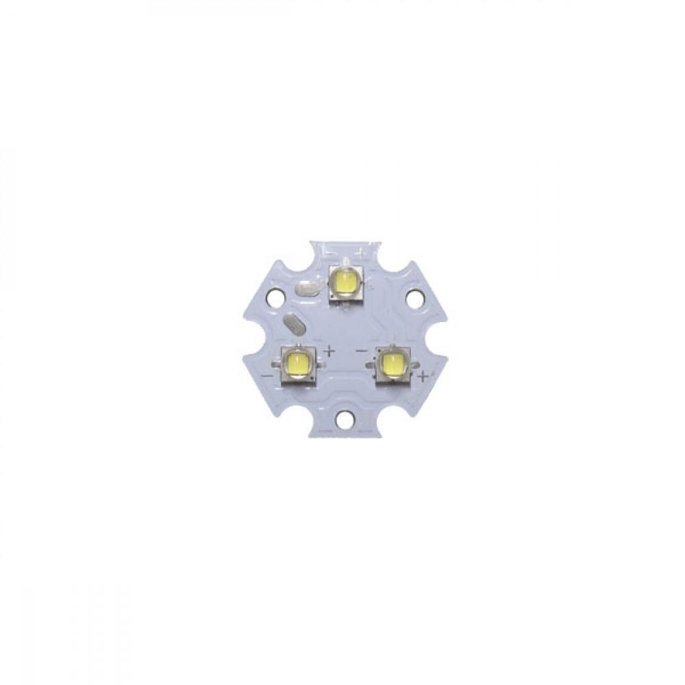 Светодиодный модуль трипл Cree XP-G3 3000K