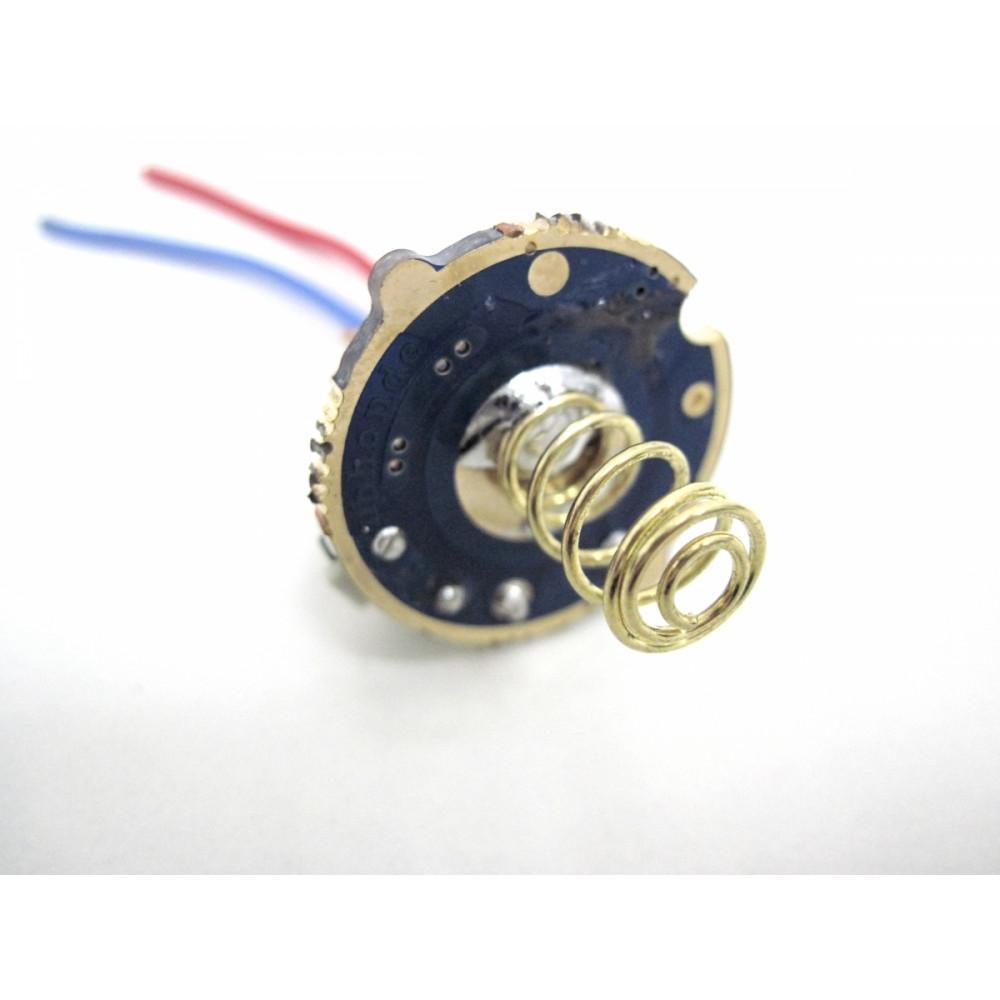 Однорежимный драйвер фонаря с кнопкой 5-12В 2А 22мм