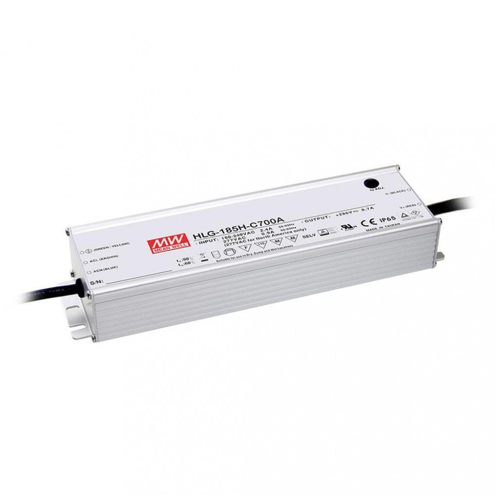 Светодиодный драйвер Mean Well HLG-185H-C1400A