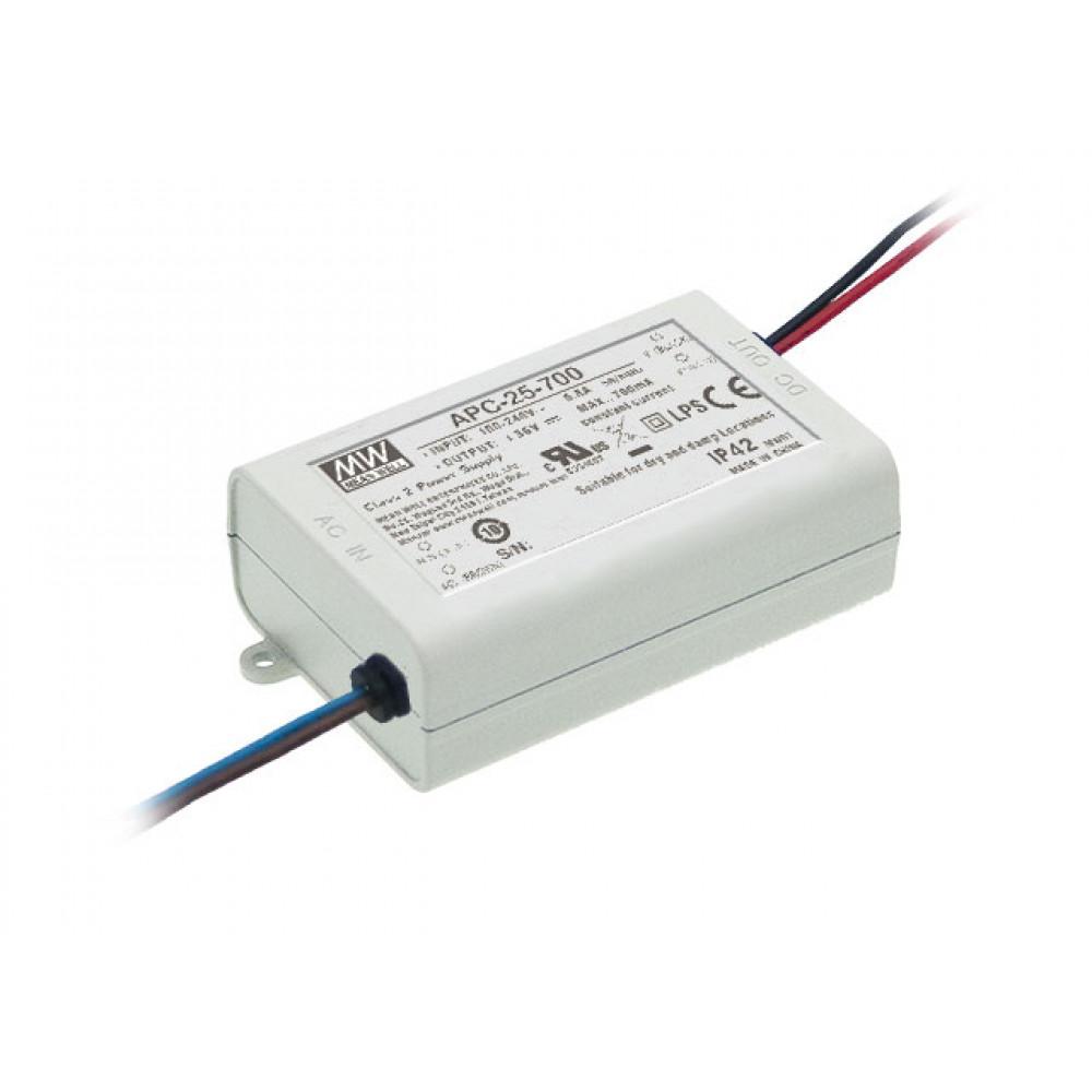 Светодиодный драйвер Mean Well APC-25-700