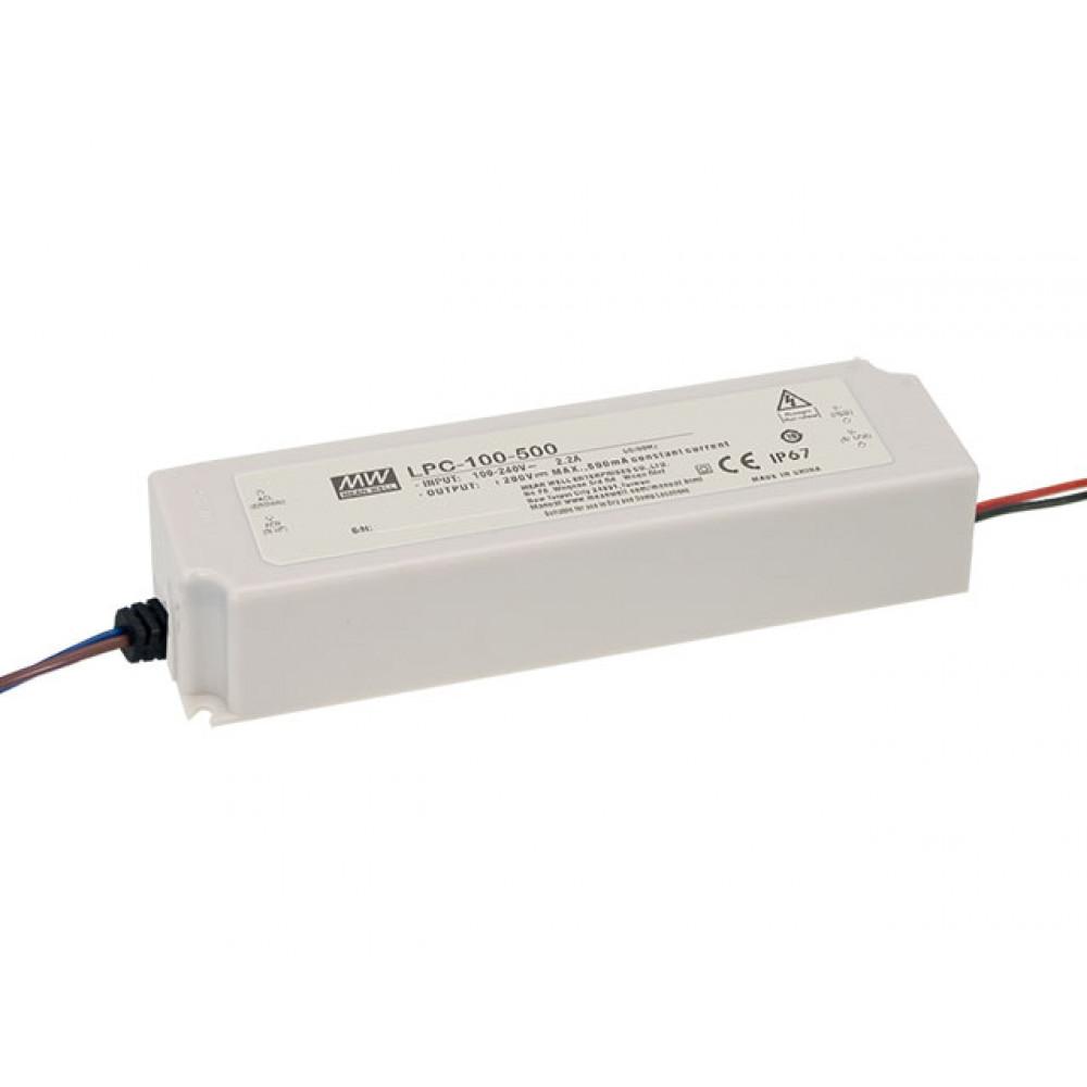 Светодиодный драйвер Mean Well LPC-100-500