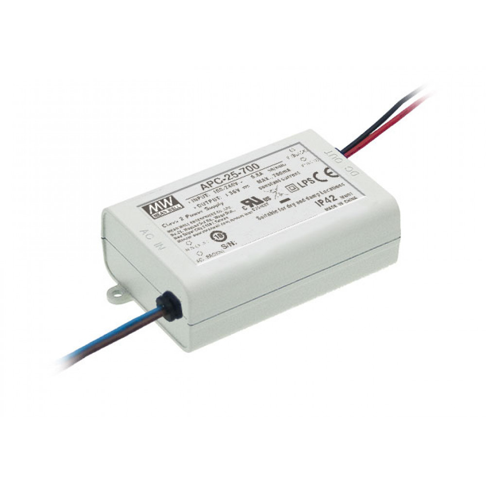 Светодиодный драйвер Mean Well APC-25-500