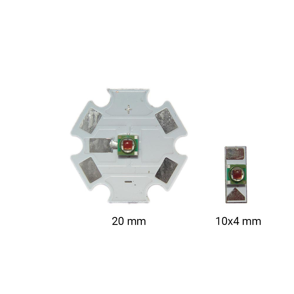 Светодиод Cree XPE янтарный 590 nm 20mm